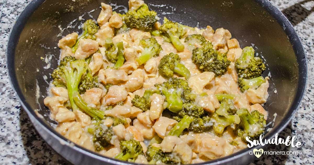 Pollo Con Brócoli Al Limón