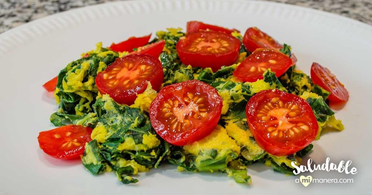 Huevos Revueltos Con Acelga Saludableamimaneracom